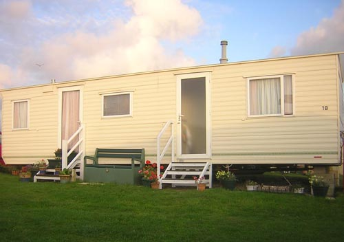 Innovative UK Private Static Caravan Holiday Hire At Harlyn Sands Trevose Head